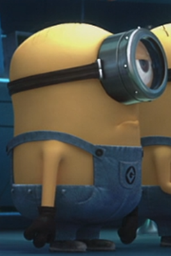 He Is One Eyed Minion With Combed Hair Contents Show Plot Despicable Me Stuart And Jerry Were Asked By Gru To Watch The Girls